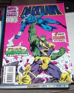 Darkhawk Annual #2 (1993, Marvel) 1ST APPERANCE  dreamkiller - savage steel