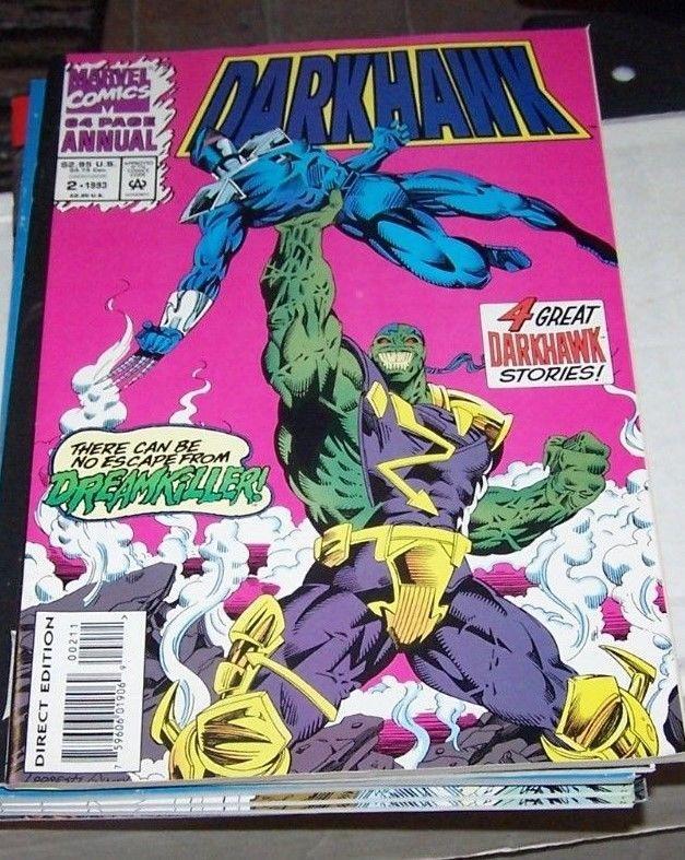 Darkhawk Annual #2 (1993, Marvel) 1ST APPERANCE  dreamkiller - savage steel