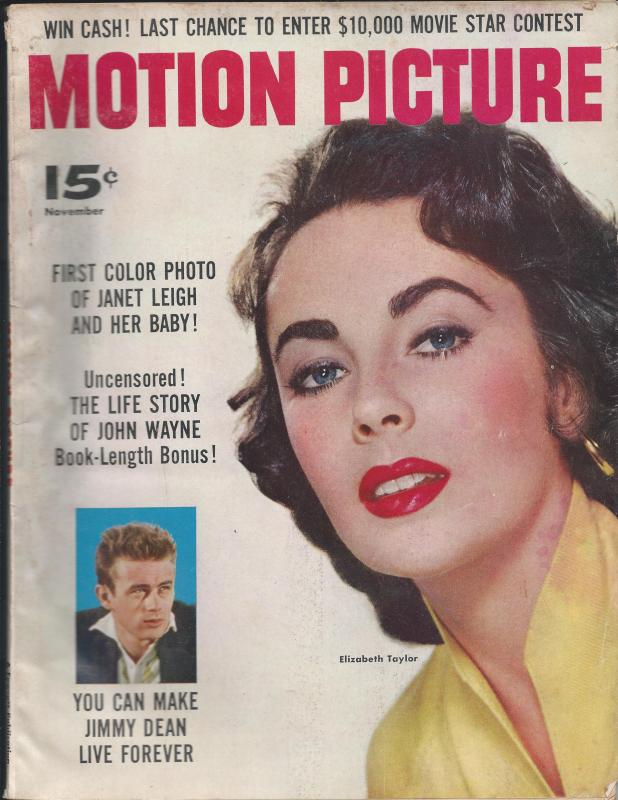Motion Picture Magazine #550, November, 1956 (GD)