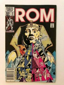 MARVEL ROM Spaceknight #39 DEATHRISE! Newstand Variant FINE/VERY FINE (A75)