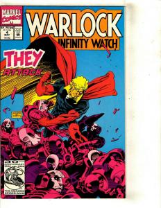 Lot of 8 Marvel Comics Warlock 4 Thing 30 What The 4 3 2 1 Meltdown  2 1 DS2