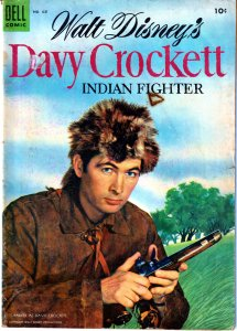 Dell Four Color Series # 631 - Davy Crockett  PT 3-19