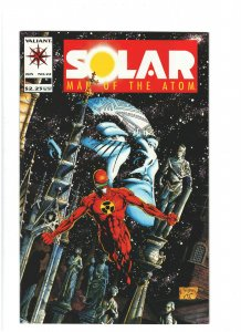 Solar, Man of the Atom #22 NM- 9.2 Valiant Comics 1993 Joe Quesada Cover