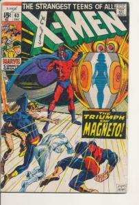 Marvel X-Men #63 Very Good/Fine (5.0) 1969 (830J)