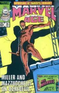 Marvel Age #36 FN; Marvel | save on shipping - details inside