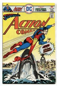 ACTION COMICS #456 1975-SUPERMAN-DC COMICS-JAWS cover