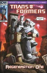 Transformers, The: Regeneration One #81A VF/NM; IDW | save on shipping - details
