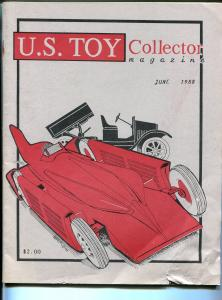 U.S. Toy Collector Magazine 6/1988-Tonks Trucks-rockets-cillector info-G