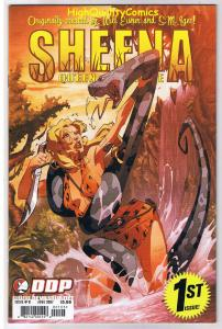SHEENA QUEEN of the JUNGLE #1, NM, Femme fatale, 2007, more Sheena in store