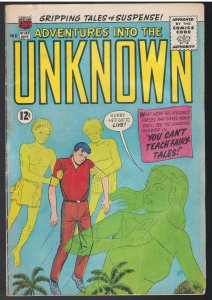 Adventures into the Unknown #143 (ACG, 1963)