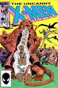 Uncanny X-Men (1981 series) #187, VF+ (Stock photo)