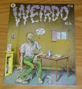 Weirdo #16 VF (1st) print - robert crumb - kim deitch - kaz - david collier 1986