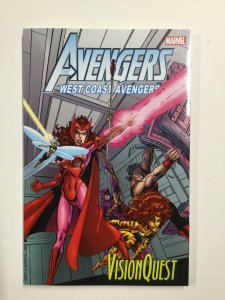 Avengers West Coast: Vision Quest Tpb Softcover Sc Near Mint Nm Marvel