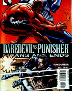 Daredevil Vs. Punisher #5 (2005)