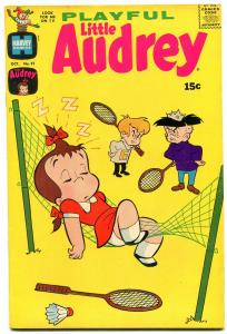 PLAYFUL LITTLE AUDREY #91 1970-HARVEY COMICS --BADMITON VF