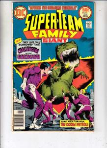 Super-Team Family #8 (Jan-77) FN/VF+ High-Grade Challengers of The Unknown, D...