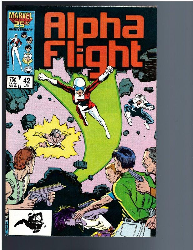 Alpha Flight #42 (1987)