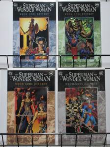 SUPERMAN WONDER WOMAN WHOM GODS DESTROY (1996) 1-4