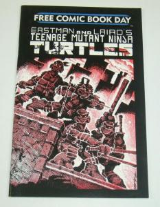 Teenage Mutant Ninja Turtles #1 VF/NM fcbd - free comic book day variant 2009