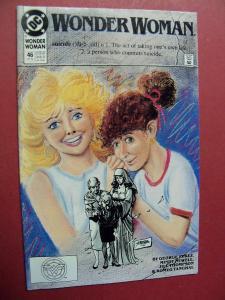 WONDER WOMAN #46 HIGH GRADE BOOK (9.0 to 9.4) OR BETTER 1ST Print 1987