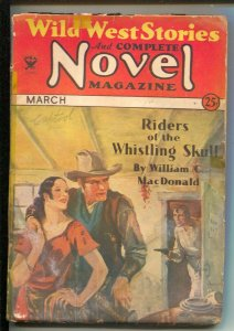 Wild West Stories & Complete Novel 3/1934-Pulp thrills-William Colt MacDonald...