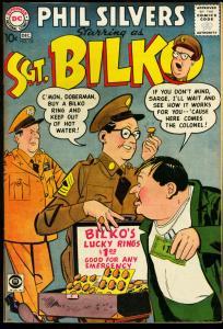 SERGEANT BILKO #10-PHIL SILVERS-CBS TV SERIES-1958-DC VF