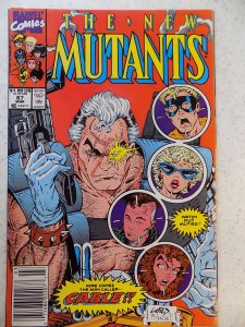 NEW MUTANTS # 87 MARVEL 1ST CABLE 1ST PRINT HI GRADE LOOK AT PICS MCFARLANE