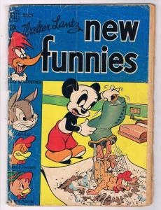 Walter Lantz New Funnies #145 GD Dell Comic Book January 1949 DE6