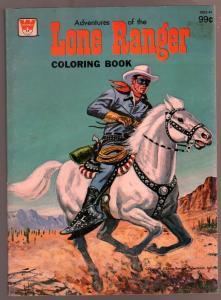 Lone Ranger Coloring Book #1653-44 1975-TV series-unused-VG