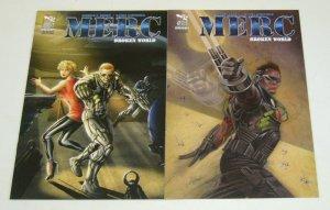 Merc: Broken World #1-2 VF/NM complete series - zenescope comics set mercenary