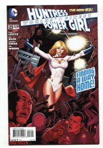 Worlds' Finest #23 2014 - 1st appearance of Tanya Spears Power Girl NM-