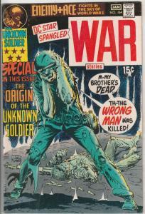Star Spangled War Stories #154 (Jan-71) FN/VF+ High-Grade Unknown Soldier, En...