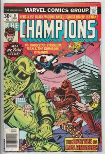 Champions, The #9 (Aug-76) NM Super-High-Grade Ghost Rider, Hercules, Black W...