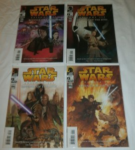 Star Wars: Episode III -- Revenge of the Sith #-4 (complete set)