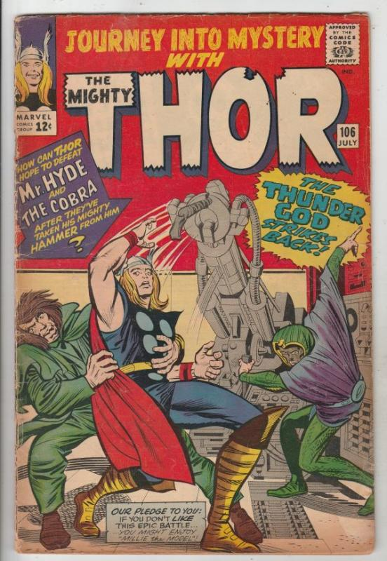 Journey into Mystery #106 (Jul-64) VG/FN Mid-Grade Thor