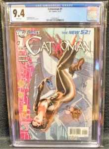 Catwoman #1 (DC, 2011) CGC 9.4