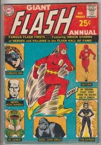 Flash, the Giant #1 (Jan-63) FN Mid-Grade Flash
