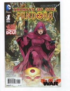 Trinity of Sin: Pandora # 1 Regular Cover NM DC New 52 N 52