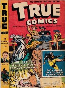 True Comics 66 VG/FN (Nov. 1947)
