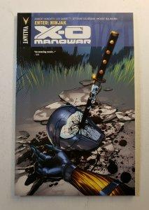 X-O MANOWAR ENTER:NINJAK VOL.2 TPB SOFT COVER GRAPHIC NOVEL NEW UNREAD