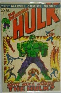 The Incredible Hulk #152 - 3.0 GD/VG - 1972