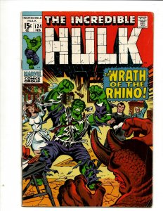 Incredible Hulk # 124 VF Marvel Comic Book Iron Man Captain America Thor BJ1
