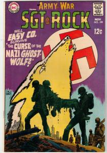 Our Army at War #199 (Nov-68) NM/NM- High-Grade Easy Company, Sgt. Rock