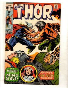 Thor # 172 VF/NM Marvel Comic Book Odin Loki Avengers Sif Asgard Warriors 3 FM4