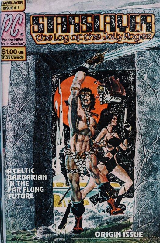 Starslayer #1 (1982) ORIGIN/1ST APP