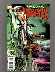 Gotham City Sirens # 12 NM 1st Print DC Comic Book Harley Quinn Poison Ivy SM19