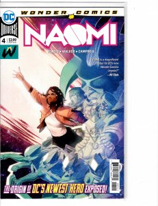 Naomi (2019) #4 NM (9.4) 1st print