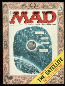 MAD MAGAZINE #26 1955-EC COMICS-JACK DAVIS-WALLY WOOD VG/FN