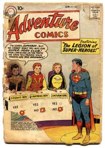 Adventure #247 Silver-Age DC Comic Book-First Legion of Superheroes