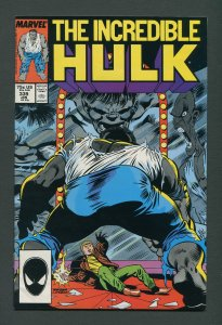Incredible Hulk #339 /  7.0 FN/VFN  January 1988